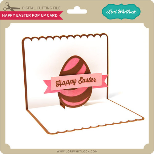 Happy Easter Pop Up Card Lori Whitlocks SVG Shop – Easter Pop Up Cards