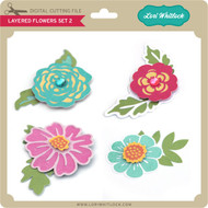 Layered Flowers Set 2