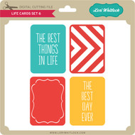 Life Cards Set 6 PNG and SVG