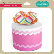 Birthday Cake Box