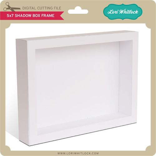 5x7 Shadow Box Frame - Lori Whitlock\'s SVG Shop