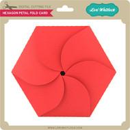 Hexagon Petal Fold Card