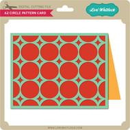 A2 Circle Pattern Card