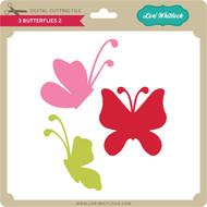 3 Butterflies 2