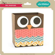 Owl Favor Box