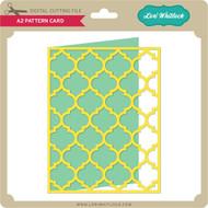 A2 Pattern Card