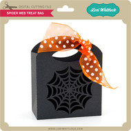 Spider Web Treat Bag