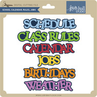 School Calendar, Rules, Jobs