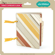 Tabbed Chipboard Album