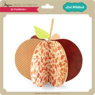 3D Pumpkin 1
