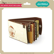 4x6 Library Pocket Mini Album