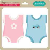 Boy/Girl Onesie Cards