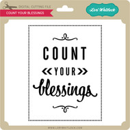 Count Your Blessings Vinyl