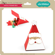 Santa Pyramid Box