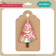 Folded Christmas Tree Tag