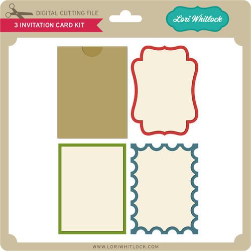 3 invitation card kit lori whitlocks svg shop 3 invitation card kit 199 image 1 stopboris Image collections