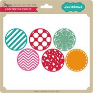 6 Decorative Circles