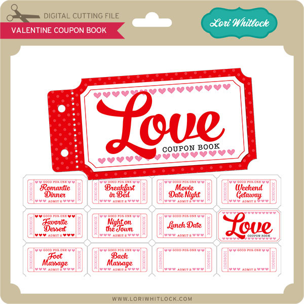 valentine coupon book 2 - Valentine Coupon Book