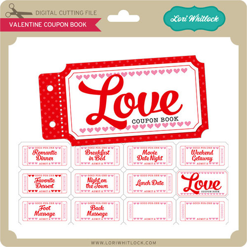valentine coupon book 2