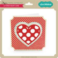Layered Heart Card