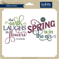 Spring Quotes A