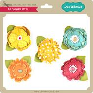 3D Flower Set 11