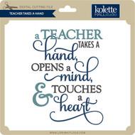 Teacher Takes A Hand
