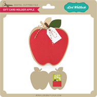 Gift Card Holder Apple