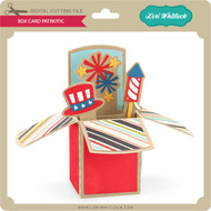 Box Card Patriotic