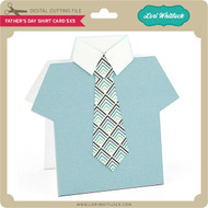 Father's Day Shirt Card 5x5