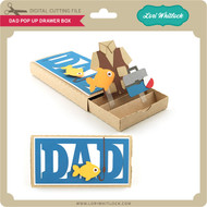 Dad Pop Up Drawer Box