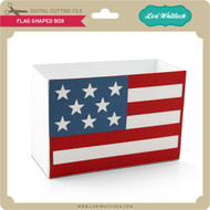 Flag Shaped Box