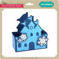 Castle Favor Box Winter