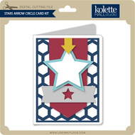 Stars Arrow Circle Card Kit