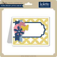 Floral Bracket Lattice Card Kit