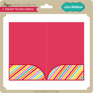 2 Pocket Folder Curved