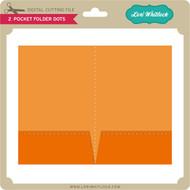 2 Pocket Folder Dots
