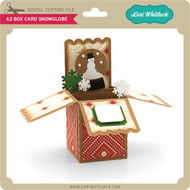 A2 Box Card Snowglobe
