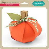 3D Pumpkin 3