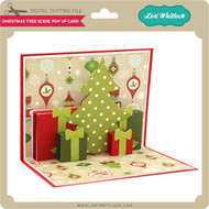 Christmas Tree Scene Pop Up Card