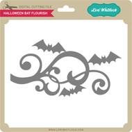 Halloween Bat Flourish