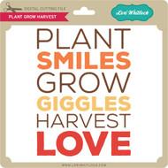 Plant Grow Harvest