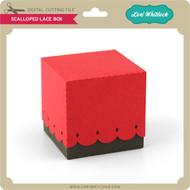 Scalloped Lace Box