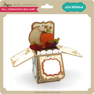 Fall Cornucopia Box Card