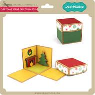 Christmas Scene Explosion Box