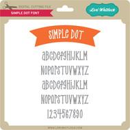 Simple Dot Font