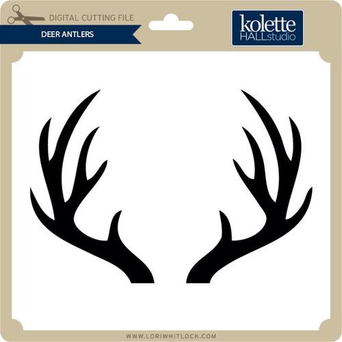 Deer Antlers Lori Whitlock S Svg Shop