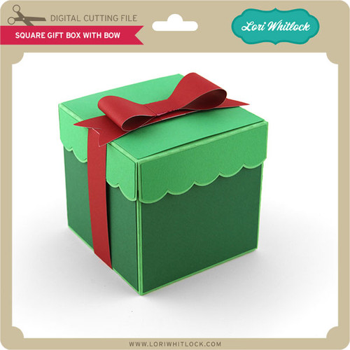 Square Gift Box With Bow & Square Gift Box With Bow - Lori Whitlocku0027s SVG Shop Aboutintivar.Com