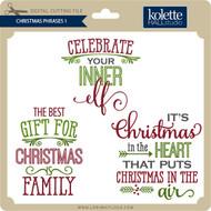 Christmas Phrases 1