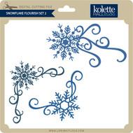 Snowflake Flourish Set 2
